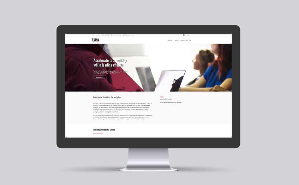 Tumii-transformations-website