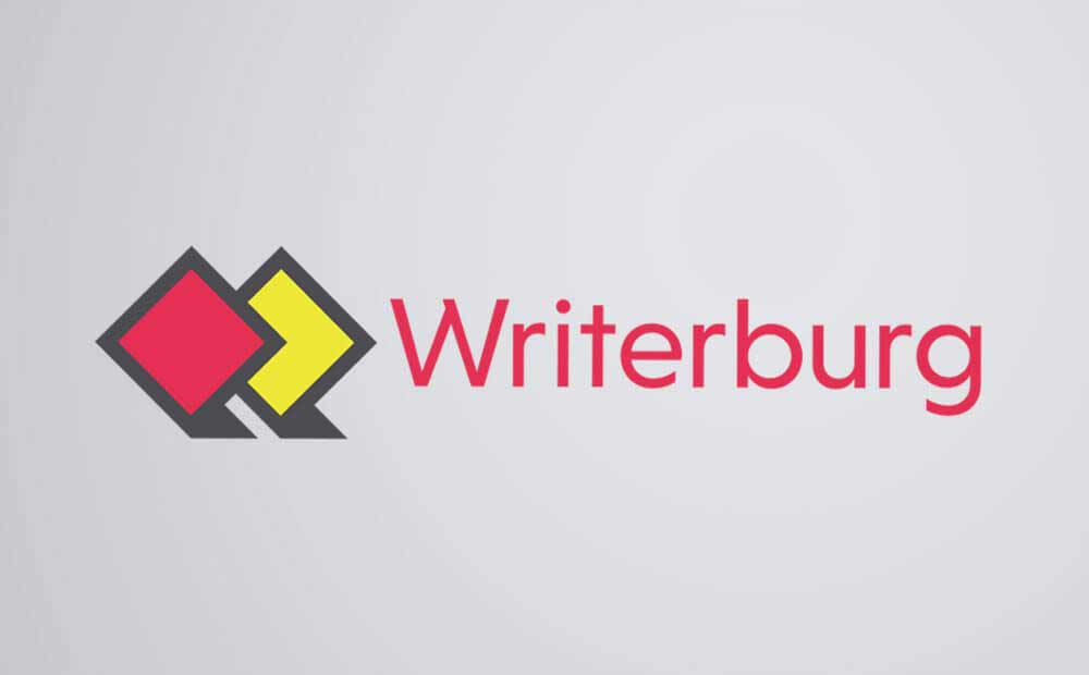 Writerburg logo design